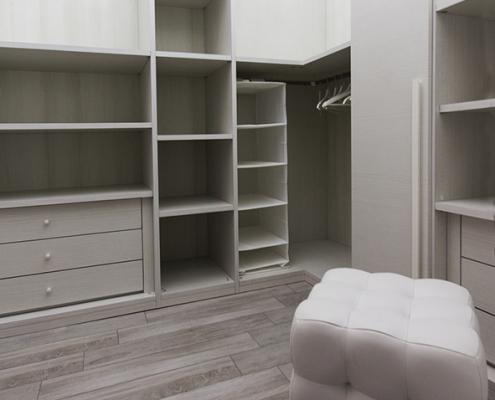 progetto interni cabina armadio caltanissetta