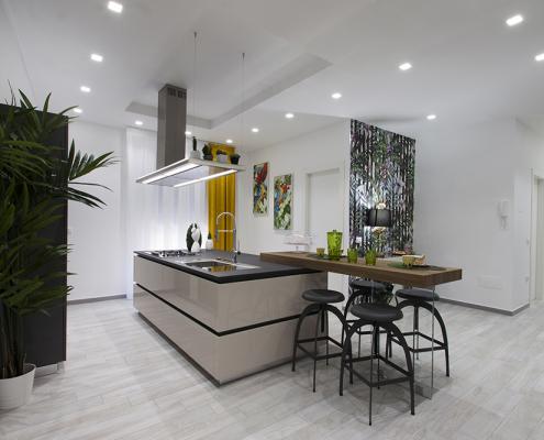 progettazione cucina con isola caltanissetta