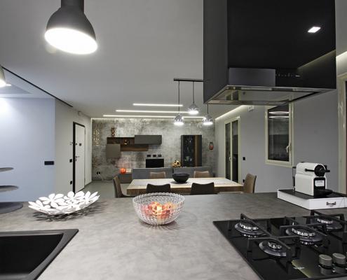 arredo cucina soggiorno open space gela