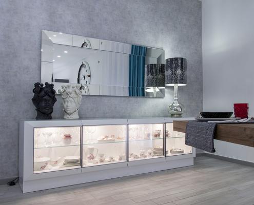 mobile vetrina soggiorno gela