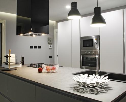 isola cucina open space caltanissetta