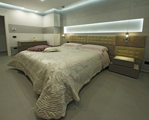 arredo camera letto moderno gela