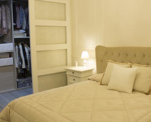 camera da letto elegante gela